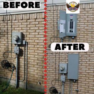 Circuit Breaker Panel replacement